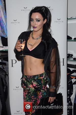 Hatty Keane - Arina Pritch debuts the latest designs from her womenswear label Pritch London, at the Wolf & Badger...