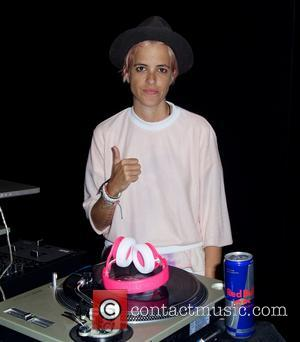Samantha Ronson - Mercedes-Benz New York Fashion Week Spring 2015 - Charlotte Ronson - Backstage - New York City, New...