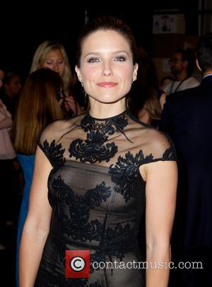 Sophia Bush - Mercedes-Benz New York Fashion Week Spring 2015 - Monique Lhuillier - Backstage - New York City, New...