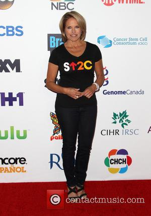 Katie Couric - The 4th Biennial 'Stand Up To Cancer' telethon - Arrivals - Los Angeles, California, United States -...