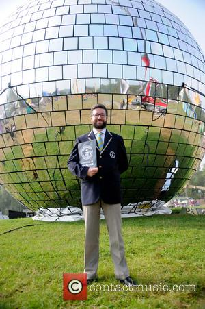 Guinness Book of Records adjudication to verify World Record for the largest disco ball - Isle Of Wight, United Kingdom...