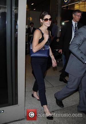 Ashley Greene - Ashley Greene arrives at Los Angeles International Airport (LAX) - Los Angeles, California, United States - Friday...