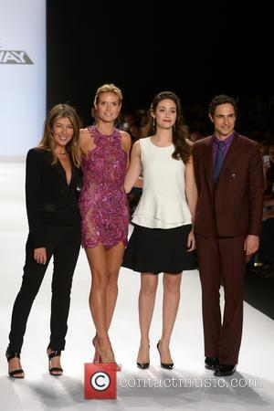 Nina Garcia, Heidi Klum, Emmy Rossum and Zac Posen