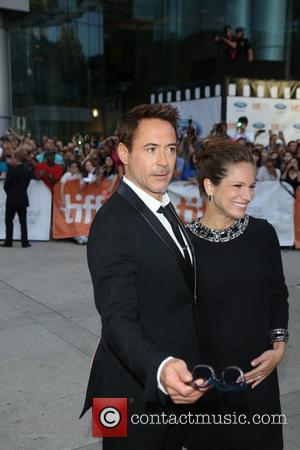 Robert Downey jr., his wife and producer Susan Downey - Toronto International Film Festival - 'The Judge' - Premiere -...