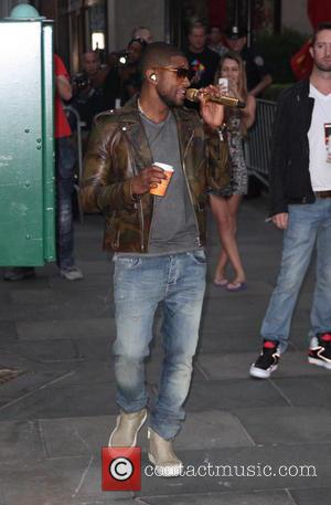 Usher and Usher Raymond - 2014 TODAY Toyota Concert Series held at Rockefeller Plaza - Usher - New York City,...