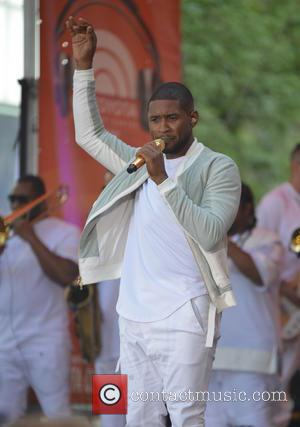 Usher performs live in concert on NBC's 'Today' show as part of their Toyota Summer Concert Series - New York...
