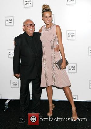 Max Azria and Petra Nemocova