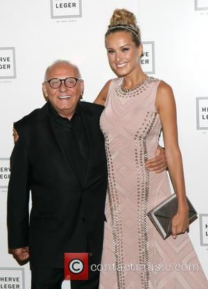 Max Azria and Petra Nemocova