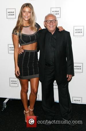 Nina Agdal and Max Azria