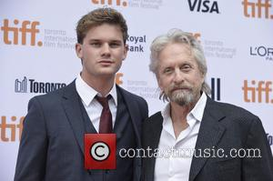 Michael Douglas and Jeremy Irvine - Toronto International Film Festival (TIFF) - 'The Reach' - Premiere - Toronto, Canada -...