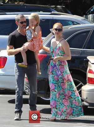 Amy Adams, Darren Le Gallo and Aviana Le Gallo - American actress Amy Adams who made her screen debut back...