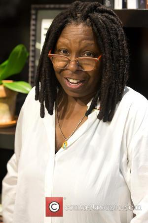 Whoopi Goldberg - Mercedes-Benz New York Fashion Week Spring 2015 - Ralph Rucci - Backstage - New York, United States...