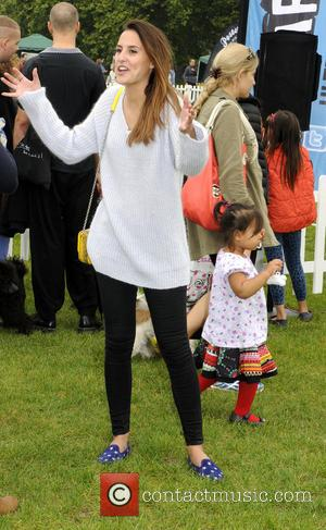 Lucy Watson - Pup Aid 2014, Primrose Hill, London - London, United Kingdom - Saturday 6th September 2014