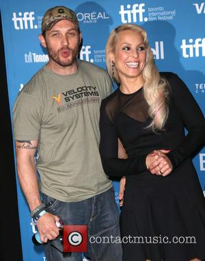 Tom Hardy and Noomi Rapace