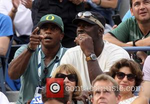 Ahmad Rashad, Michael Jordan and Anna Wintour - A variety of celebrities were spotted during the 13th day of the...