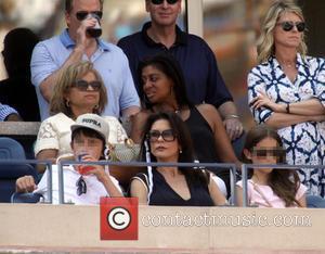 Catherine Zeta-jones, Dylan Douglas and Carys Douglas