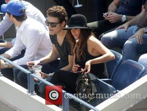 Paul Wesley - A variety of celebrities were spotted during the 13th day of the 2014 US Open Tennis Championships...