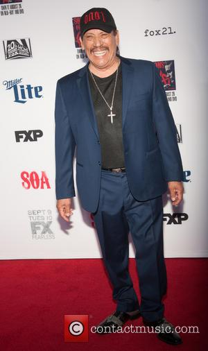 Danny Trejo - Ahead of the premiere for FX's seventh and final series of 'Sons of Anarchy', the stars were...