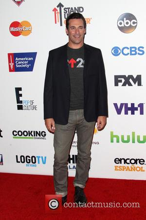 Jon Hamm - Hollywood Unites For The 4th Biennial Stand Up To Cancer - Hollywood, California, United States - Saturday...