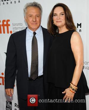 Dustin Hoffman and Lisa Hoffman