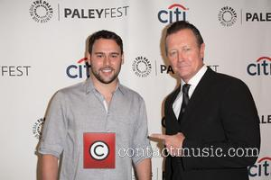 Scooter Braun and Robert Patrick