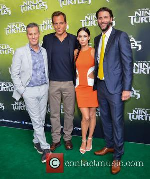 Megan Fox, Andrew Form, Will Arnett and Brad Fuller