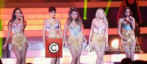 Frankie Bridge, Frankie Sandford, Una Foden, Mollie King, Rochelle Humes, Vanessa White and The Saturdays