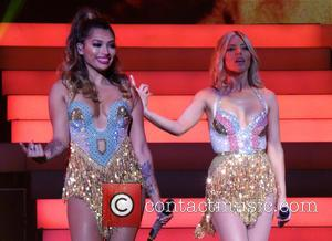 Mollie King, Vanessa White and The Saturdays