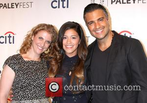 Jennie Snyder, Gina Rodriguez and Jaime Camil