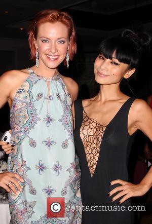 Kristanna Loken and Bai Ling - The Burbank International Film Festival 2014 - Closing Night - Inside - Burbank, California,...