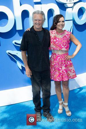 Kris Kristofferson and Betsy Landin - 'Dolphin Tale 2'  world premiere at Regency Village Theater in Los Angeles -...