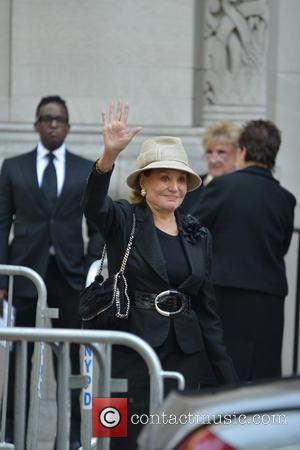 Barbara Walters - Guests attend the Joan Rivers Memorial Service - Manhattan, New York, United States - Sunday 7th September...