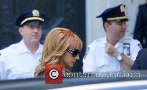 Kathy Griffin - Joan Rivers Memorial Service at Emanu-El Temple in the Upper East side in New York City -...