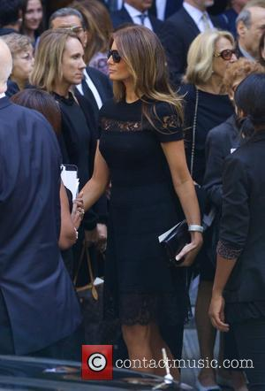 Joan Rivers and Melania Trump