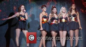 Frankie Bridge, Una Foden, Frankie Sandford, Rochelle Humes, Vanessa White and Mollie King