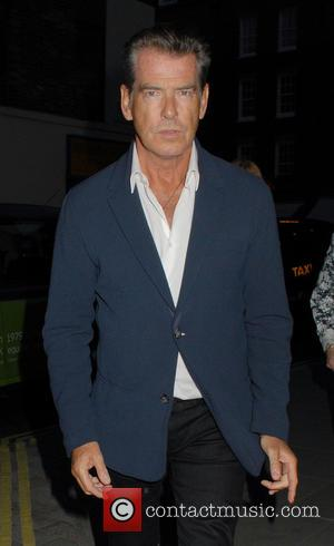 Pierce Brosnan - Celebrities at Chiltern Firehouse - London, United Kingdom - Monday 8th September 2014
