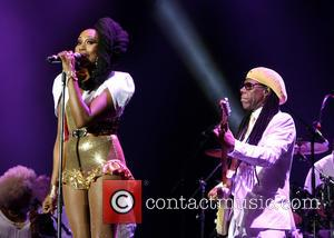 chic and nile rodgers - American band Chic featuring Nile Rodgers best known for their 70's disco hits at Bestival...