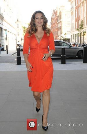 Kelly Brook - Kelly Brook visits a book publishers