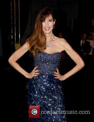 Carol Alt - Mercedes-Benz New York Fashion Week Spring 2015 - Dennis Basso - Front Row - New York City,...