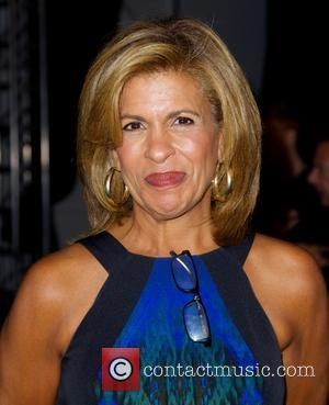 Hoda Kotb - Mercedes-Benz New York Fashion Week Spring 2015 - Dennis Basso - Front Row - New York City,...