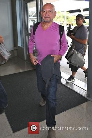 Sir Ben Kingsley - Sir Ben Kingsley at Los Angeles International Airport (LAX) - Los Angeles, California, United States -...