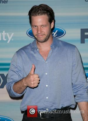 Ike Barinholtz - 2014 FOX Fall Eco-Casino Party at The Bungalow - Arrivals - Los Angeles, California, United States -...