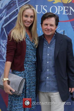 Tracy Pollan, Michael J.fox and Tennis
