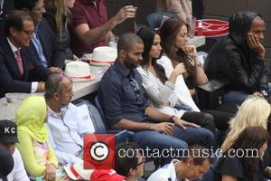 Tony Parker and wife Thierry Henry