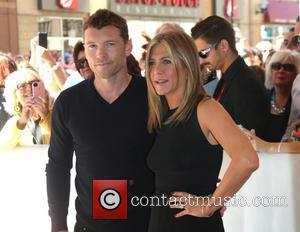 Sam Worthington and Jennifer Aniston