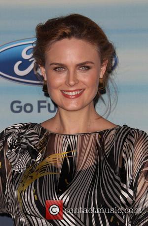 Emily Deschanel - 2014 FOX Fall Eco-Casino Party - Arrivals - Santa Monica, California, United States - Monday 8th September...