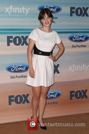 Zooey Deschanel - 2014 FOX Fall Eco-Casino Party - Arrivals - Santa Monica, California, United States - Monday 8th September...