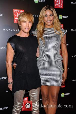 Marc Bouwer and Lavern Cox