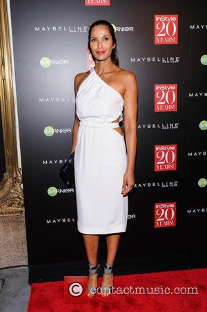 Padma Lakshmi - InStyle 20th Anniversary Party held at Diamond Horseshoe - Arrivals - New York, New York, United States...