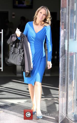 Charlotte Hawkins - Charlotte Hawkins outside the ITV studios - London, United Kingdom - Monday 8th September 2014